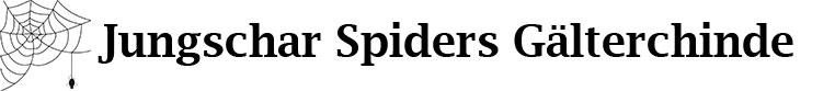 Jungschar Spiders Gälterchinde