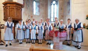 Gottesdienst vom 1. August 2021 mit dem Trachtenchor Liestal